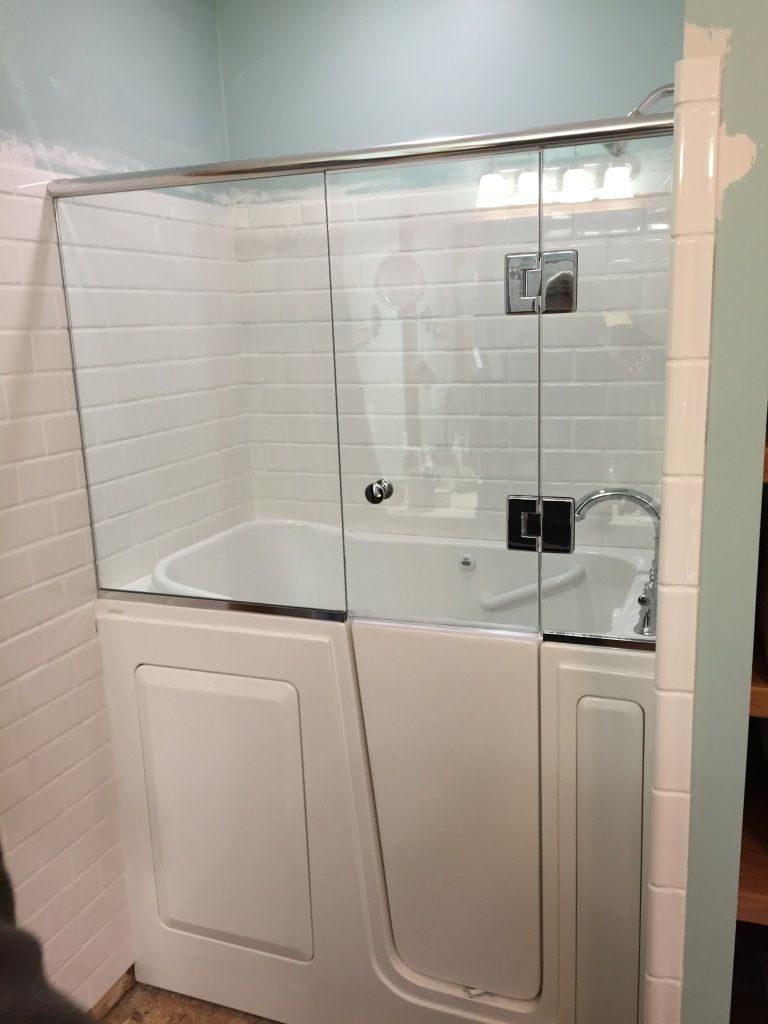 Walk in Tub Shower Combo